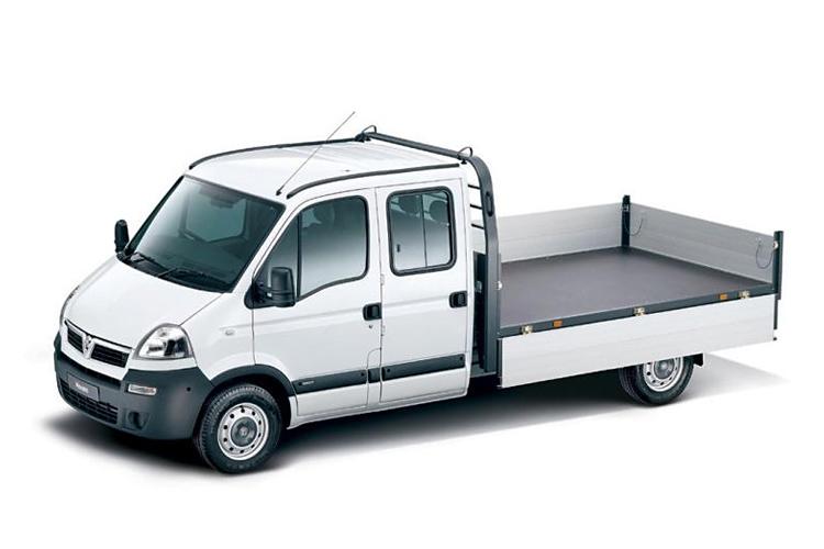 3.5 Tonne Crew Cab Dropside Van